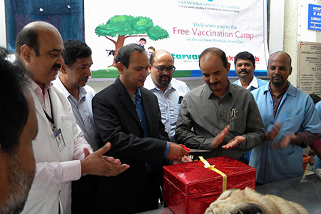 IIL organises animal vaccination camps